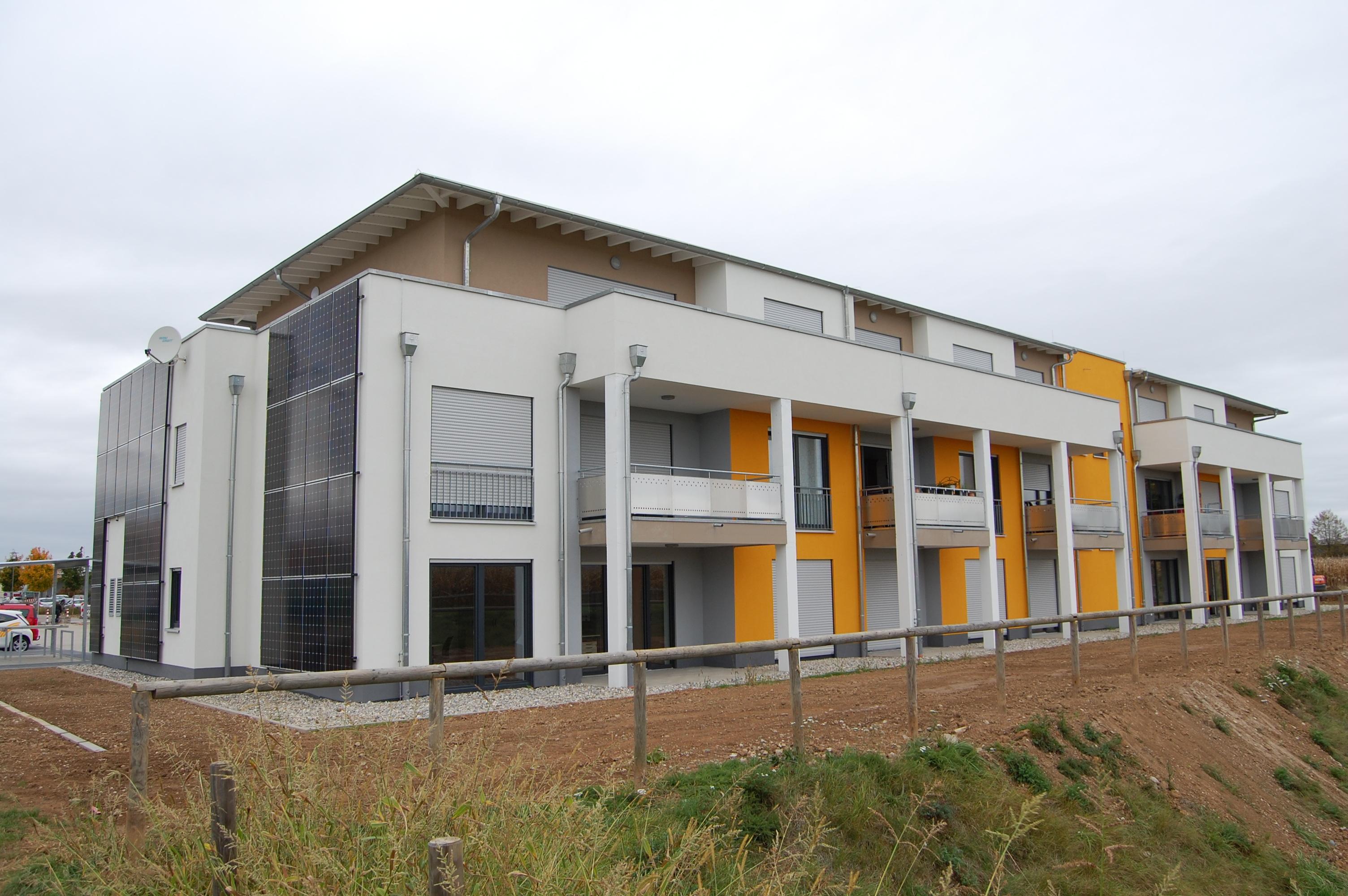 Gemeinde Rheinhausen Haus für Service Wohnen an den